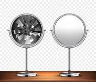 Vector mirrors. Vector illustration stock illustration