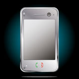 Vector mobiele cellphone Stock Foto's