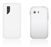 Vector Mobiele Telefoons Royalty-vrije Stock Afbeelding