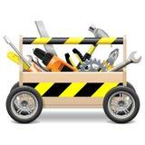 Vector Mobiele Toolbox Royalty-vrije Stock Foto's