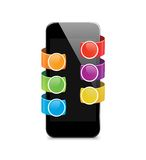 Vector mobile Devices - Illustration Royalty Free Stock Photo