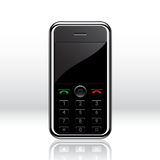 Vector mobile phone Royalty Free Stock Photography
