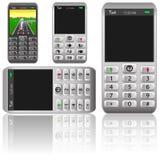Vector mobile phones,original design Stock Photo