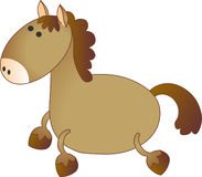 Vector model of horse Royalty Free Stock Image