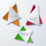 Vector moder banners element design Royalty Free Stock Photos