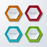 Vector moder banners element design. Stock Image
