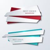 Vector moder banners element design. Stock Photos