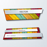 Vector moder banners element design. Stock Photo