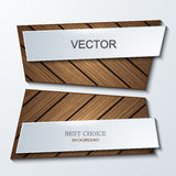 Vector moder banners element design. Royalty Free Stock Photos