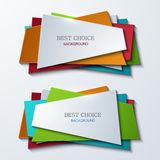 Vector moder banners element design Royalty Free Stock Image