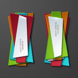 Vector moder banners element design Stock Photos