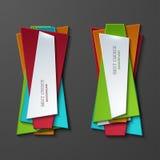 Vector moder banners element design Stock Photos