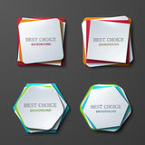 Vector moder banners element design Royalty Free Stock Photo