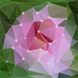 Vector modern abstract geometric background Stock Image