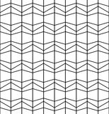 Vector modern abstract geometry grid pattern. black and white seamless geometric background. Subtle pillow and bed sheet design. creative art deco. hipster Stock Illustration