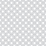 Vector modern abstract geometry pattern polka. gray subtle seamless geometric background Stock Images