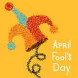 Vector modern april fools day. Stock Photos