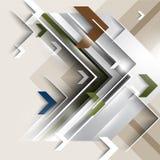 Vector modern arrow elements background Stock Image