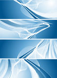 Vector modern banners Royalty Free Stock Photography