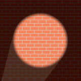 Vector modern brick wall background Stock Images