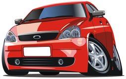 Vector modern cartoon car Royalty Free Stock Photo