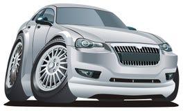 Vector modern cartoon car Stock Photo