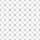 Vector modern celpatroon met kruisen stock illustratie