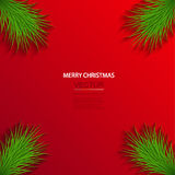 Vector modern christmas background. Stock Photography