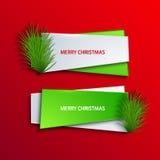 Vector modern christmas background. Stock Image
