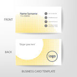 Vector modern and clean business card design template Stock Photo