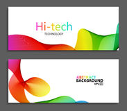 Vector modern colorful abstract backgrounds. Stock Photography