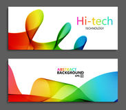 Vector modern colorful abstract backgrounds. Stock Photos