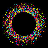 Vector modern colorful circle abstract background Royalty Free Stock Image