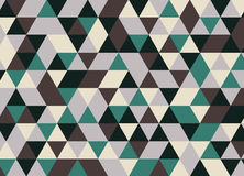 Vector modern colorful geometry triangle pattern, color abstract Stock Photo