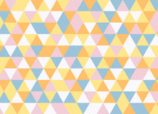 Vector modern colorful geometry triangle pattern, color abstract Royalty Free Stock Image