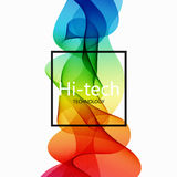 Vector modern colorful hi-tech abstract background. Royalty Free Stock Images