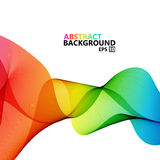 Vector modern colorful hi-tech abstract background. Royalty Free Stock Photo