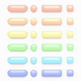 Vector modern colorful web buttons set Stock Photo