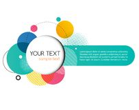 Vector Modern Design Circle template Stock Photo