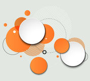 Vector Modern Design Circle template Royalty Free Stock Photo