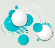 Vector Modern Design Circle template Stock Image