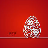 Vector modern easter element design. Royalty Free Stock Photos