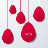 Vector modern easter element design. Stock Photography