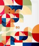 Vector modern elegant circle banner Stock Photography