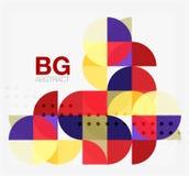 Vector modern elegant circle banner Stock Photo