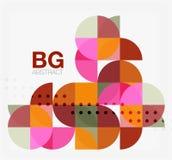 Vector modern elegant circle banner Stock Photos