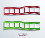 Vector modern film background. Creative illustration. Eps10 Royalty Free Stock Photography