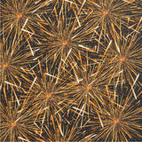 Vector modern fireworks background design. Stock Images