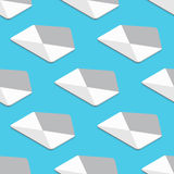 Vector modern flat email or envelope Royalty Free Stock Photo