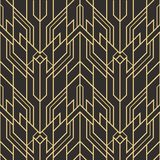 Abstract art deco seamless modern tiles pattern Royalty Free Stock Images